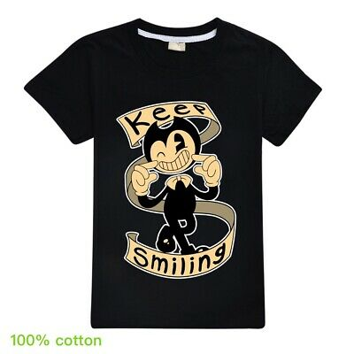 Bendy and the Ink Machine Keep Smiling Kid's Unisex T-Shirt Boys Girls AU Shop