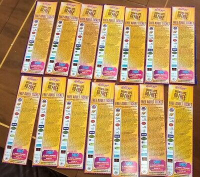 4 X KELLOGGS MERLIN ALTON TOWERS 2for1 FREE ADULT TICKETS GROWN UPS GO FREE