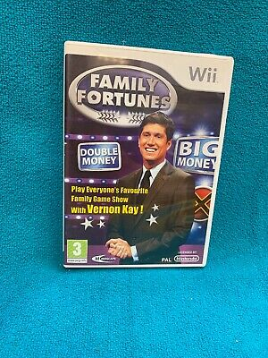 FAMILY FORTUNES (WII) - Game WAVG The Cheap Fast Free Post