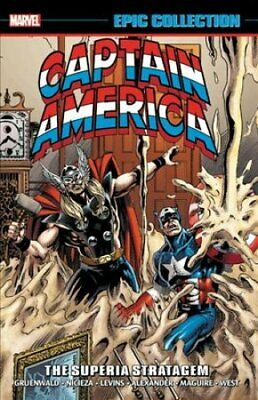 Captain America Epic Collection: The Superia Stratagem 9781302916206 | Brand New