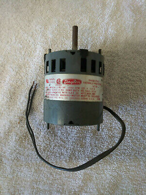 Dayton 3M563A 1/40 Hp Electric Motor, 1550 Rpm, 115 Volts 1.0 Amps