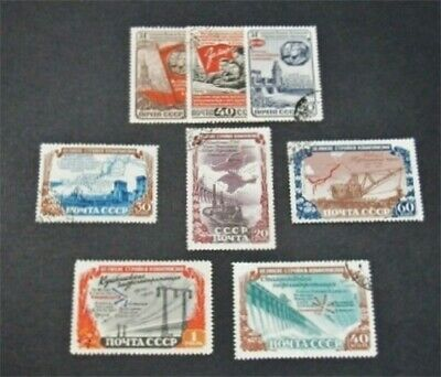 nystamps Russia Stamp # 1596-1603 Used $56