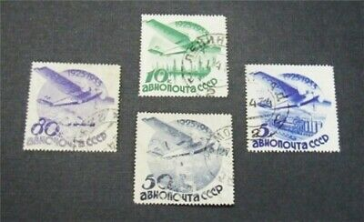 nystamps Russia Stamp # C40//C49 Used $50