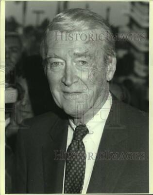 1987 Press Photo Actor Jimmy Stewart at the gala opening of Cineplex Odeon
