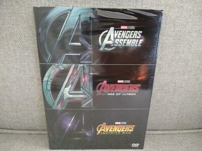 Avengers Trilogy - 3 DVD Box Set - Marvel Movies w/ Age of Ultron, Infinity War