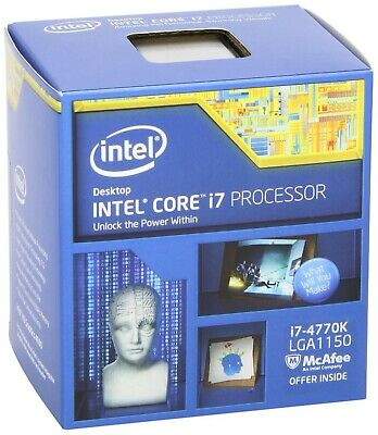 Intel Core i7 4770k | Socket 1150 | LGA 1150 | Z87 - Z97