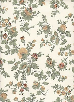 $4 SAMPLE: Thomas Strahan Historic mid 19th Century REPRODUCTION WALLPAPER #5