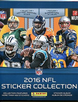 2016 Panini NFL Sticker Collection Album (Completed)  485 Stickers