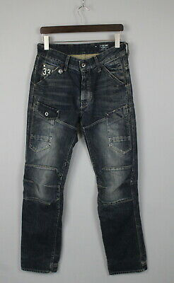 G-STAR GENERAL 5620 TAPERED Men's W30/L34 Patched Fade Effect Jeans JS14861_