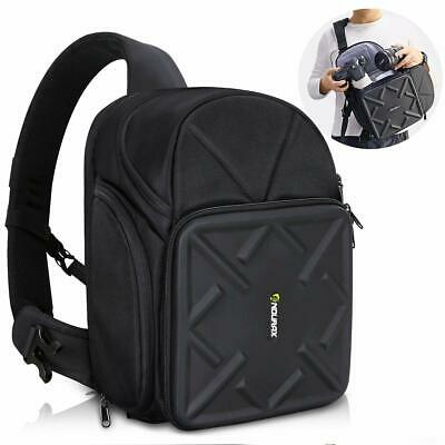 Endurax Sling Camera Bag Backpack For Dslr Camera With Customizable Dividers For