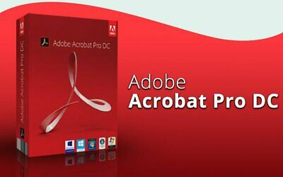 Adobe Acrobat Pro Dc 2019 Life Time All Language - Windows/Mac (Download)