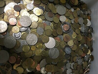 Nice Mixed Bulk Lot of Various 100 Assorted Tokens Good Beginner Lot!