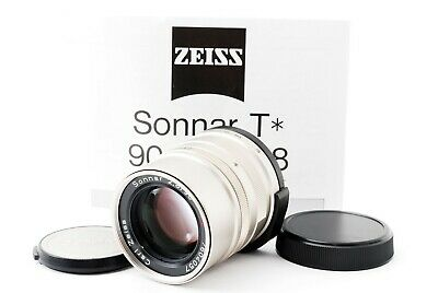 Near Mint Carl Zeiss Sonnar f2.8 90mm T* for Contax G Mount from Japan