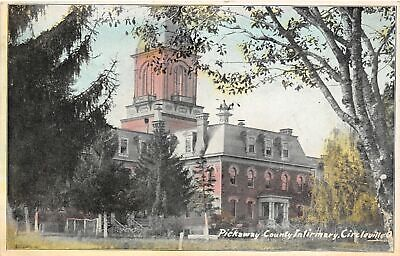 F37/ Circleville Pickaway County Ohio Postcard 1908 Infirmary Building