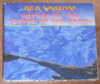 RICK WAKEMAN : Return To The Centre Of The Earth - 2014 CD album in digipak