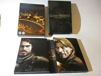 Game Of Thrones Second Series Complete Box Set Dvd 5 Discs Bonus Features