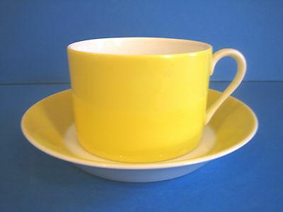Fitz Floyd Papillion Yellow Bands Butterfly 1 Cup and Saucer Set (qty available)