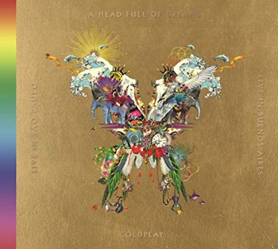 Coldplay-Live in Buenos Aires / Live Sao Paulo / Testa Giappone 2 CD+2 DVD S43