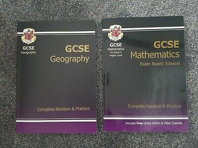 CGP GCSE Geography and Mathematics (Edexcel) Complete Revision and Practice Book
