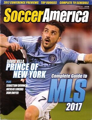 2017 Soccer America USA Complete Guide MLS - Football Season Preview Magazine