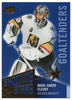 2018-19 Upper Deck Series 1 Shooting Stars Goalies Pick Any Complete Your Set
