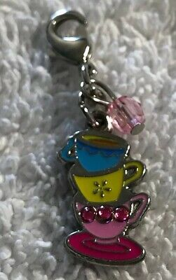Disney Parks Charmed In The Park - Alice In Wonderland Tea Cups Charm