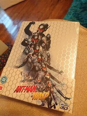 Ant-Man And The Wasp Steelbook - Marvel - New
