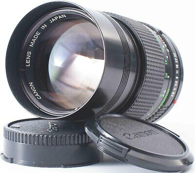 MINT Canon New FD NFD 135mm F2.8 MF Portrait Lens for FD Mount From JAPAN