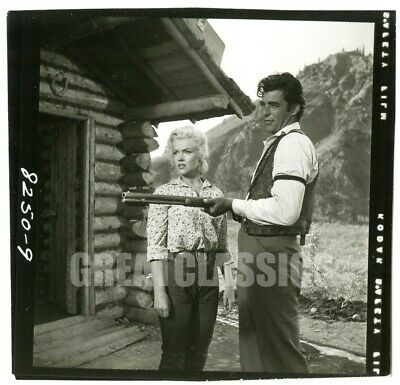 Marilyn Monroe Rory Calhoun River Of No Return 1954 Original Vintage Photograph