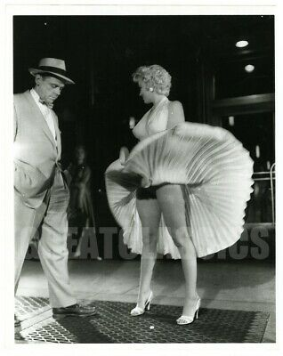 Marilyn Monroe Tom Ewell Subway Seven Year Itch 1955 Original Vintage Photograph