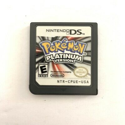 Pokemon -- Platinum Version (Nintendo DS, 2009) Game Cart Only *Authentic*