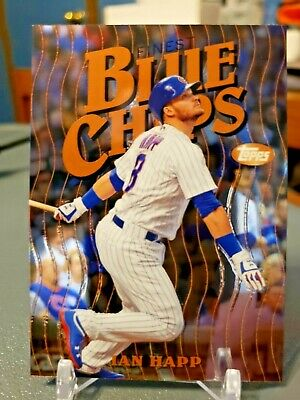 2019 Topps Finest Blue Chips #FBCIH Ian Happ Chicago Cubs