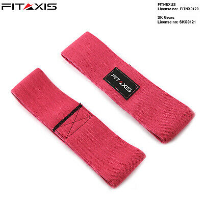 FITAXIS Hip Restriction Bands Elastic Booty Glute Hip Circle Gripper /& Expanders