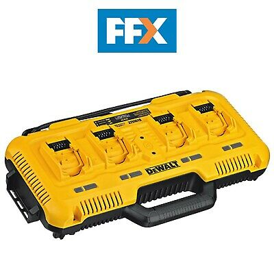 DeWalt DCB104-GB 18V 240V XR 4 Port Fast Charger