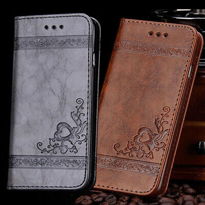 Magnetic Genuine Leather Case&Cover For Apple iPhone Xr Xs Max X 8 7 6S 6 Plus 5