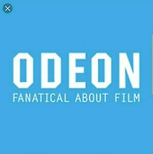 2 x FREE STANDARD ADULT or CHILD ODEON CINEMA TICKET CODES  USE BY DEC 29TH 2019
