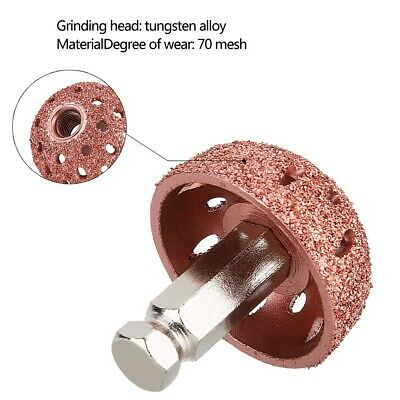 Rubber Buffing Wheel K18 Grit 50mmx19mm for Tyre Repair *1st ClassPost* 5958827