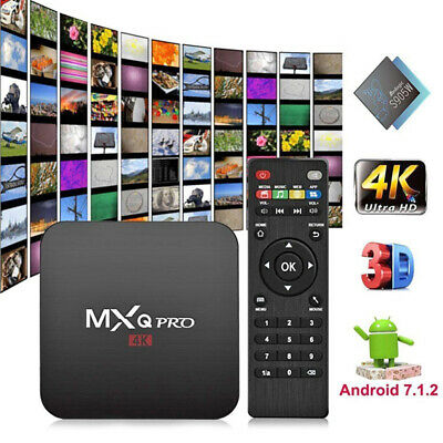 MXQ PRO Android 7.1 RK3229 1G 8G Smart TV Box 2.4GHz 4K WiFi KODI Media Player