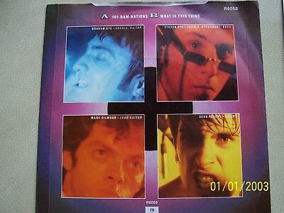 Scarlet Party, 101 Dam-Nations / What Is This Thing. 1982 Parlophone Single