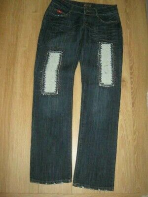 Miss Y L Collection Bootcut Stretch Blue jeans Size 14 bnwot
