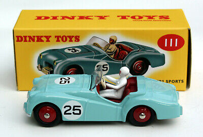 Triumph TR2 Sports Grey 4659128 DINKY TOYS ATLAS 1:43 New in a box!