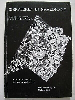 SIERSTEKEN IN NAALDKANT - Needle-lace stitches - Zele lace