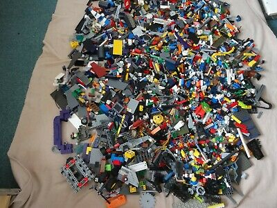 huge job lot of lego assorted 8.65 kg boxed bricks etc no 4
