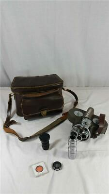 Vintage Bell & Howell 70-DR Film Movie Camera with Bag & Accessories