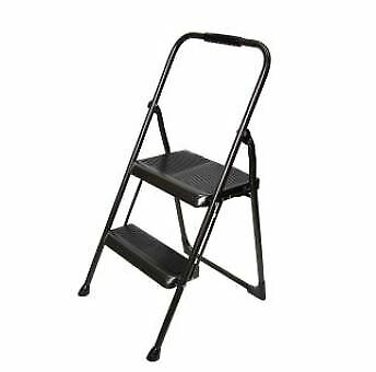 Stupendous Ladders Compact Step Stool Ladder Chair 2 Steps Folding Alphanode Cool Chair Designs And Ideas Alphanodeonline
