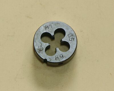HSS 7mm x 0.5mm Metric Die Right Hand Thread M7 x 0.5 Pitch Ship from USA
