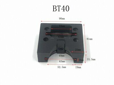 BT40 CNC TOOL HOLDER ROUND AND SQUARE TIGHTENING FIXTURE ship from USA