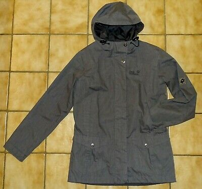 low priced be1d4 7dbab JACK WOLFSKIN DAMEN Texapore Jacke in grau / ungefüttert ~ Gr. M ~ super  Zustand