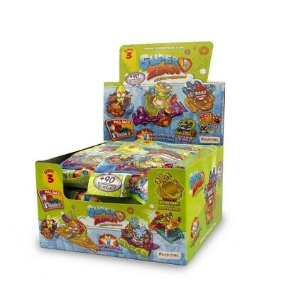 Full Box (24 packets) SuperZings Rivals of Kaboom Series 3 Superslider RRP £48