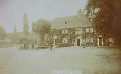 The Local Watering Hole Great Warley Essex 1913 Rp Pc